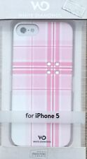 Crystal Case White Diamonds Cover iPhone 5  Knox pink oder Arrow pink Strass
