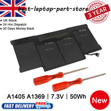 """Replace Battery A1405 for Apple MacBook Air 13"""" A1466 2012 2013 Black 020-6955-B"""