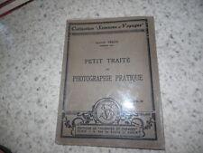 1931.Petit traité de photographie pratique.Claude Véron