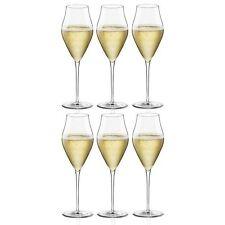 Bormioli Rocco Inalto Arte Champagne Flutes - Gift box Of 6 Glasses - 320ml