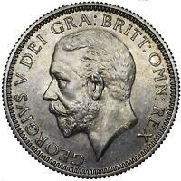 1927 PROOF SHILLING - GEORGE V BRITISH SILVER COIN - SUPERB