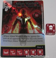 Foil ADAM WARLOCK MAN WHO STALKED THE STARS 81 Guardians of Galaxy Dice Masters