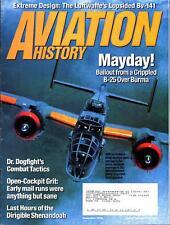 AVIATION HISTORY NOV 06 LUFTWAFFE Bv-141_USS SHENANDOAH_B-25_COL JOHN BOYD USAF