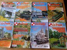 LOT 8 revues LE TRAIN Supplément autos miniatures / Modélisme chemin de fer