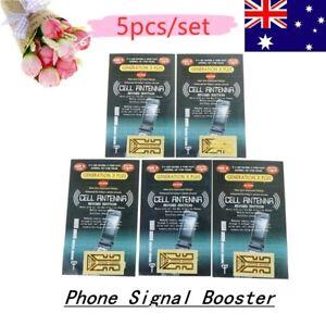 5X Universal Cellulare Phone Signal Enhancement Signal Antenna Booster Stick Fx