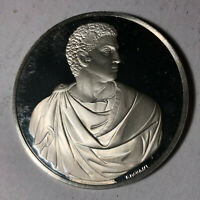 Brutus, The Genius of Michelangelo 1.26oz Sterling Silver Medal