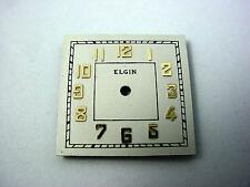 Gold Numeral Markers Pearl 20.46mmX20.46mm Vintage Watch Dial Elgin New Old Stck