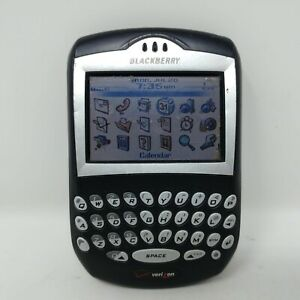 Vintage BlackBerry 7250 - Black (Verizon) Smartphone 0922