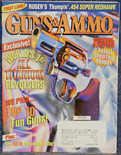 Magazine GUNS & AMMO July 1999 !!! German NAVAL LUGER 1904/06 PISTOL !!!