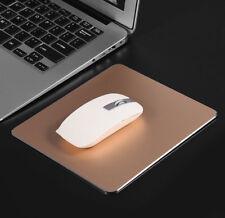 Rose Gold Aluminium Alloy Mouse Pad For Apple Mac MacMini MacBook iMac
