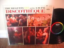 REGENTS Live At The AM-PM Discotheque CAPITOL LP VG++ ~ DAVID AXELROD PRODUCED