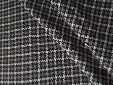 Brown tweed made in uk Blazer matériau de revêtement de sponsoring tissu d'ameublement