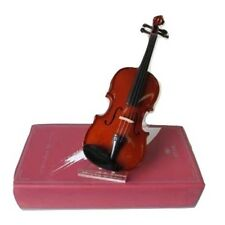 **GREAT GIFT**1/64 Wood Violin Desktop Statue-Musical Decor Holiday Special