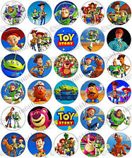 30 x Toy Story Party Collection Edible Rice Wafer Paper Cupcake Toppers