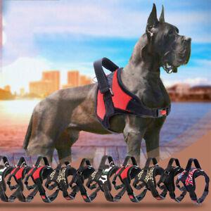 No-Pull Dog Pet Reflective Collar Soft Vest Harness Control Adjustable S-XL