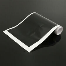 "60"" x 6"" Reflective Windshield Banner vinyl sticker decal Sun Strip Visor Black"