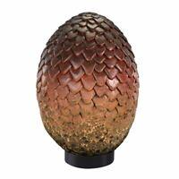 Game of Thrones Drogon Dragon Egg Collectors Replica - Boxed Noble Rust