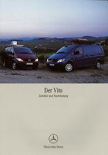 Prospekt 2006 Mercedes-Benz Vito Zubehör Nachrüstung 4 06 Autoprospekt brochure
