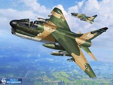 ART PRINT: A-7D Corsair II - Print by Shepherd