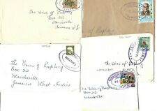 JAMAICA (TRD) OVAL POSTMARKS ON COVER OR PIECE INC GAYLE, CRAWFORD etc