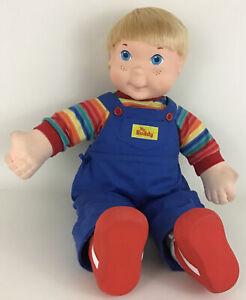 My Buddy Doll Blond Blue Eyes 22'' w/ Shoes Socks Vintage 1985 Hasbro Playskool