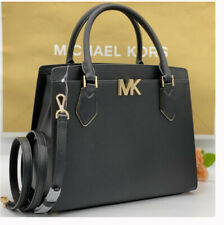 🌺🌹NWT Michael Kors Mott Large satchel tote laptop shoulder bag leather black