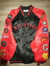 1930 Negro Leagues All Stars MLB Baseball Satin Jacket XL mens NEW
