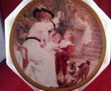 """Lenox 1993 Annual Mother'S Day Collector'S Plate~""""Chasing Bubbles"""""""