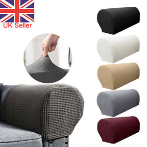 1 Pair Sofa Arm Chair Protector Cover Sofa Couch Armchair Covers Armrest Stretch