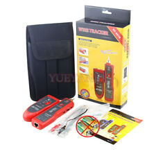 Nf-801 Red Multifunction Cable Detector Networking Telephone Phone Cable tester