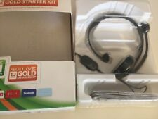XBOX LIVE 12 MONTH GOLD STARTER KIT HEADPHONES ONLY!!! NEW HEADSET ONLY