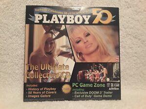EarthLink Celebrates 50 Years of Playboy 50 PC CD ROM Sealed, New Free Shipping