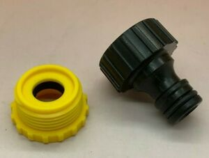 "Hozelock Compatible - 1/2"" & 3/4"" Tap Connector Female Thread -Garden Hose Pipe"