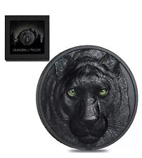 2020 Palau BLACK PANTHER Hunters by Night 2 oz Silver BOX/COA 1st Coin SHIP NOW