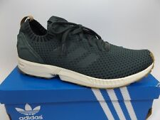 big sale 464a5 d502a Adidas Mens SZ 12.0 M, ZX Flux PK Running Athletic Shoes Green PRE OWNED  D9458