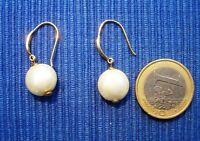 B15 BO Boucle Oreille Argent Massif 925 Vermeil Perle Diamant lot Bijou Createur