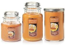 Yankee Candles Medium 14.5oz Classic Jar or Large 22oz Jar/Tumbler - Pumpkin Pie