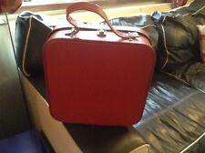 Vintage Red Vanity Case Retro