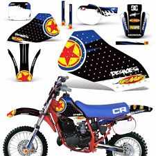 Graphic Kit Honda CR 60 R MX Dirt Pit Bike Decals Sticker Wrap CR60 1984-1985 RS
