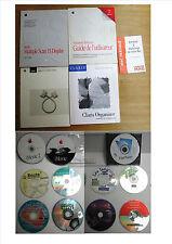 LOT APPLE MACINTOSH - 5 MANUELS / 13 CD ROM