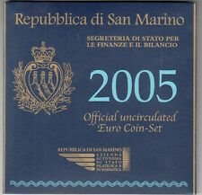 CARTELLA PER MONETE SAN MARINO 2005 EURO € VUOTO FOLDER BU SET EMPTY COFFRET