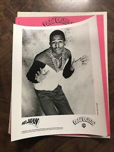 1988 MC Shan Rapper Cold Chillin Records Hip Hop Music Press Kit w/Folder WB