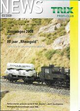 Trix News Profi-Club 03/2008 Magazine Nederlands