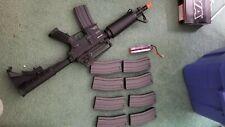 New listing KWA Airsoft KM4A1 Full Metal CQB M4 Carbine AEG BLACK,  electric
