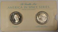 America in Space Series: Goddard Rocket & Freedom 7 Sterling Silver Proof Medals