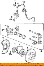 HONDA OEM 95-98 Odyssey Brake-Front-Caliper Mount Bolt 90107SM4000