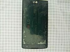LG Risio + Case, Used / Cracked Screen, Cricket Network Carrier