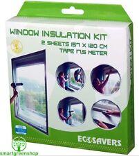 EcoSavers Window Insulation Kit, Secondary Double Glazing film