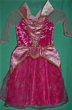 NEW DISNEY PARK PRINCESS AURORA SLEEPING BEAUTY COSTUME GIRL 7/8 HALLOWEEN