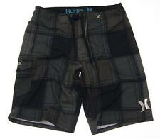 Brand New Men's Hurley Phantom Plaid Boardshorts size 30